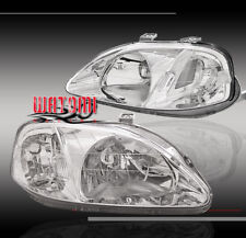 1999-2000 HONDA CIVIC CRYSTAL HEADLIGHT EK9 DX EX LX SI