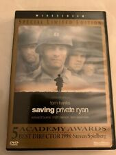 Saving Private Ryan (Dvd, 1999, Special Limited Edition) Movie Drama Rated R