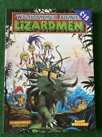 Games Workshop Warhammer Fantasy Lizardmen Army Book 5th GW OOP Armies Sigmar