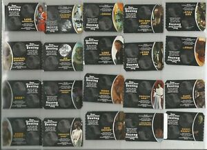 STAR WARS Burger King 65 diff CHOOSE YOUR DESTINY game pieces (2005) + 1 double
