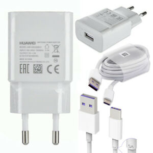 2 Pin Adapter Charger Type-C Cable For Huawei P20 Lite, P20 Pro, P9/P10 Plus EU