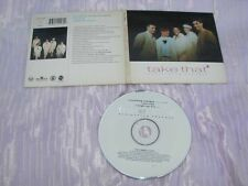 TAKE THAT - EVERYTHING CHANGES UK CD SINGLE G/F CARD SLEEVE
