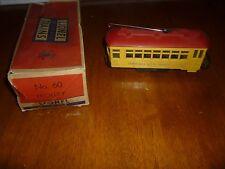 Vintage Postwar Lionel #60 Motorized Trolleyin Original Box