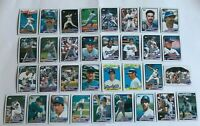 1989 LOS ANGELES DODGERS Topps Complete Baseball Team Set 33 Cards GIBSON SAX!