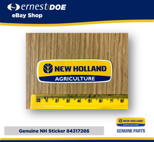New Holland Sticker Decal - Genuine New Holland - 84317286 - Genuine CNH