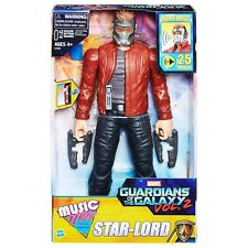 "Marvel Star Lord 12"" Action Figure Guardians of the Galaxy Electronic Music Mix"