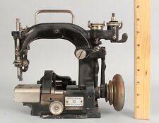 Antique Straw Hat Chain Stitch Holland Grossmann Dresdensia II Sewing Machine NR