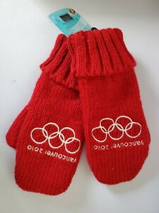2010 Vancouver Olympics Mittens Gloves Brand New With Tags