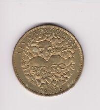 Raro. francés. medalla. UNC. les Catacombes .33MM.. G.199