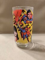 "Vintage Superman the Movie Pepsi Glass ""Superman Saves the Day"" 1978"