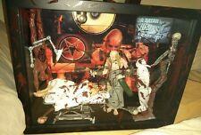 HOUSE OF 1000 CORPSE'S DR SATAN HORROR BLOOD Figure Creations Shadow Box Custom