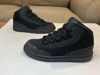 Nike Jordan Air Executive Black High Top Shoes Boy's Size: 12.5C #820242-010