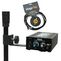 PMA Personal In-Ear Monitor Headphone Amp/Headphone Cable 10' by Elite Core