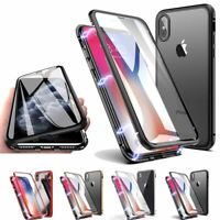 360 Full Body Glass Screen Protector Case Cover for iPhone XR / X / XS / XS Max