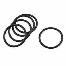 sourcingmap/® 6 mm x 2 mm gomma flessibile tenuta filtro dellolio anelli toroidali guarnizioni 20 pz.
