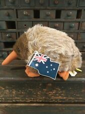 Ca Toys Australia Echidna 10in Spiny Anteater Plush Toy Stuffed Animal Korea Vtg