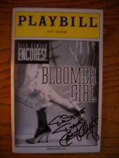 Kathleen Chalfant Signed Inscribed New Playbill Bloomer Girl City Center Encores
