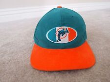Vintage Rare Retro Miami Dolphins snapback hat - from Starter