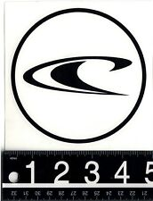 """O'NEILL 5"""" ROUND SURF DECAL O'Neill Watersports 5in Water Sports Die Cut Sticker"""