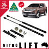 NITROLIFT BONNET HOOD GAS STRUT DAMPER LIFT SUPPORT KIT ISUZU MUX MU-X 2013-2018