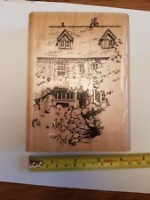 Personal impressions House Rubber stamp - R 124