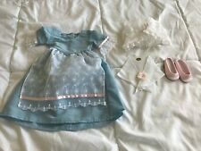 american girl elizabeth's tea lesson gown full set in mint condition