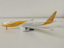 flyscoot.com SCOOT Boeing 777-200ER 1/500 Herpa 527859 777 777-200 ER Barry