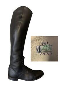 Der Dau Riding Boots Black Custom Made Dressage Equestrian Boots - Women's 6.5