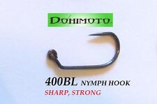 50) 400BL #16 Nymph Fly Tying Hooks, dohimoto competition series, czech nymph