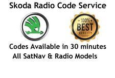 SKODA CITIGO RADIO UNLOCK CODE - FAST SERVICE