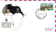 546- FDC VATICAN VISITE PAPE JEAN PAUL II   AU  NIGERIA