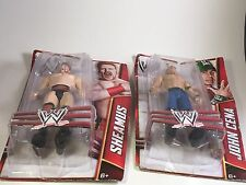 2012 WWE Action Figures Classics Signature Series John Cena & Sheamus