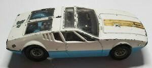 Vintage Corgi Toys 271 Ghia 5000 Mangusta Detomaso - Made In Gt Britain Lot A