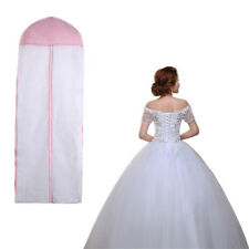 """INA C 61"""" Breathable Wedding Prom Dress Garment Clothes Cover Dustproof Bag Zip"""