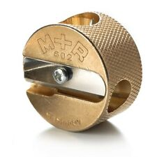 Mobius + Ruppert (M+R) Brass Artists Pencil Sharpener Germany  602-Double Round