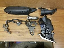 S~ OEM 2009-2014 Yamaha YZFR1 YZF R1 Rear Master Cylinder Brake Lever Covers