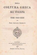 1887 - Estetica - Giovanni Giordano - Coltura greca