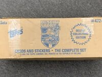 Sealed Case (50) TOPPS 1991 DELUXE COLLECTORS' EDITION  DESERT STORM  CARDS