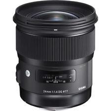 Sigma 24mm F1.4 DG HSM 'A' Lens - Canon Fit