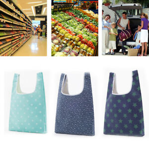 Foldable Reusable Eco Grocery Carry Shopping Bag Storage Tote Handbags Hot