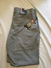Under Armour Men's Golf Straight Loose Gray Pants 38/32 NWT $85 MSRP