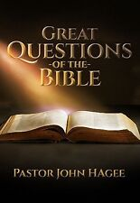 Great Questions of the Bible - 4 Dvds - John Hagee - Sale !