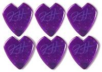 Metallica Kirk Hammett Jazz III Purple Dunlop Guitar Pick - 6 Pack - USA Seller