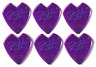 Metallica Kirk Hammett Jazz III Purple Dunlop Guitar Pick - 6 Pack - USA Seller