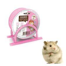 Hamster Wheel Pet Comfort Treadmill Hamster Exercise Wheel Silent Spinner Pink
