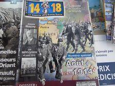 14-18 Magazine n°21 Août 1914 saint cyriens escadron de Gironde Adolphe Messimy