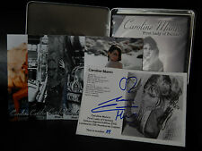 Caroline Munro Signed Limited First Lady of Fantasy DVD Rare Tin plus Photos OOP