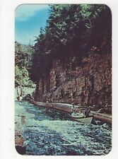 USA, Boat Ride In The Rapids, Ausable Chasm N.Y. Postcard, A799