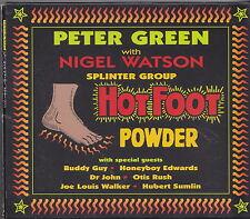 PETER GREEN WITH NIGEL WATSON  SPLINTER GROUP HOT FOOT CD JAPON