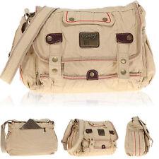 Messenger ELEPHANT KAMPEN Tasche Umhängetasche Handtasche DIN A 4 Bag 3697 CAMEL